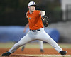 Florida sophomore pitcher Justin Poovey winds up during the Gators' first day of practice on Friday, January 29, 2010 at McKethan Stadium in Gainesville, Fla. / Gator Country photo by Tim Casey