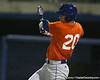 Florida freshman infielder Cody Dent bats during the Gators' first day of practice on Friday, January 29, 2010 at McKethan Stadium in Gainesville, Fla. / Gator Country photo by Tim Casey