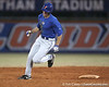 Florida sophomore outfielder Tyler Thompson runs out a triple during the Gators' first day of practice on Friday, January 29, 2010 at McKethan Stadium in Gainesville, Fla. / Gator Country photo by Tim Casey