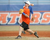 Florida junior Josh Adams throws to the catcher during the Gators' first day of practice on Friday, January 29, 2010 at McKethan Stadium in Gainesville, Fla. / Gator Country photo by Tim Casey
