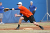 Florida junior infielder Bryson Smith fields a throw at third base during the Gators' first day of practice on Friday, January 29, 2010 at McKethan Stadium in Gainesville, Fla. / Gator Country photo by Tim Casey