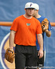 Florida sophomore pitcher Alex Panteliodis works out during the Gators' first day of practice on Friday, January 29, 2010 at McKethan Stadium in Gainesville, Fla. / Gator Country photo by Tim Casey