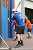 Florida sophomore catcher Ben McMahan warms up during the Gators' first day of practice on Friday, January 29, 2010 at McKethan Stadium in Gainesville, Fla. / Gator Country photo by Tim Casey