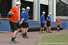 Florida junior infielder Bryson Smith warms up during the Gators' first day of practice on Friday, January 29, 2010 at McKethan Stadium in Gainesville, Fla. / Gator Country photo by Tim Casey