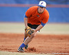 Florida sophomore Preston Tucker fields a ground ball during the Gators' first day of practice on Friday, January 29, 2010 at McKethan Stadium in Gainesville, Fla. / Gator Country photo by Tim Casey