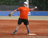 Florida sophomore Preston Tucker throws to the catcher during the Gators' first day of practice on Friday, January 29, 2010 at McKethan Stadium in Gainesville, Fla. / Gator Country photo by Tim Casey