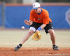 Florida junior Josh Adams fields a ground ball during the Gators' first day of practice on Friday, January 29, 2010 at McKethan Stadium in Gainesville, Fla. / Gator Country photo by Tim Casey