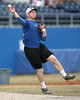 Florida sophomore infielder Jerico Weitzel throws to first base during the Gators' first day of practice on Friday, January 29, 2010 at McKethan Stadium in Gainesville, Fla. / Gator Country photo by Tim Casey