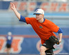 Florida freshman pitcher Hudson Randall works out during the Gators' first day of practice on Friday, January 29, 2010 at McKethan Stadium in Gainesville, Fla. / Gator Country photo by Tim Casey