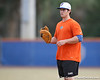 Florida sophomore Preston Tucker warms up during the Gators' first day of practice on Friday, January 29, 2010 at McKethan Stadium in Gainesville, Fla. / Gator Country photo by Tim Casey