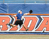 Florida sophomore outfielder Daniel Pigott leaps for a fly ball during the Gators' first day of practice on Friday, January 29, 2010 at McKethan Stadium in Gainesville, Fla. / Gator Country photo by Tim Casey