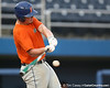 Florida freshman catcher Austin Maddox bats during the Gators' first day of practice on Friday, January 29, 2010 at McKethan Stadium in Gainesville, Fla. / Gator Country photo by Tim Casey