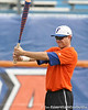 Florida senior Matt den Dekker warms up during the Gators' first day of practice on Friday, January 29, 2010 at McKethan Stadium in Gainesville, Fla. / Gator Country photo by Tim Casey