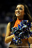 (Casey Brooke Lawson / Gator Country) UF Dazzlers perform during the second half of the Gators games against Lancers in Gainesville, Fla., on January 6, 2009. The Gators won 95 to 69.