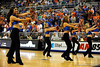 (Casey Brooke Lawson / Gator Country) The UF Dazzlers perform during a time-out during the first half of the Gators game against the Wolfpack in Gainesville, Fla., on January 3, 2009. The Gators won 68 to 66.