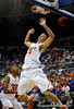 (Casey Brooke Lawson / Gator Country) UF forward Chandler Parsons scores over a North Carolina State player during the second half of the Gators game against the Wolfpack in Gainesville, Fla., on January 3, 2009. The Gators won 68 to 66.