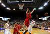 (Casey Brooke Lawson / Gator Country) Ole Miss guard Will Bogan knocks the ball away from UF guard Erving Walker during the Gators 78 to 68 victory over the Rebels in Gainesville, Fla., on January 10, 2009.
