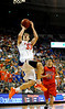 (Casey Brooke Lawson / Gator Country) UF forward Nick Calathes scores during the Gators 78 to 68 victory over the Rebels in Gainesville, Fla., on January 10, 2009.