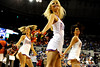 (Casey Brooke Lawson / Gator Country) UF Dazzlers perform during the Gators 78 to 68 victory over the Rebels in Gainesville, Fla., on January 10, 2009.