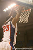 photo by Tim Casey<br /> <br /> Florida sophomore forward Alex Tyus slams in two points during the second half of the Gators' 108-49 win in an exhibition game against the Warner Southern Royals on Monday, November 3, 2008 at the Stephen C. O'Connell Center in Gainesville, Fla.