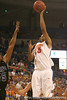 photo by Tim Casey<br /> <br /> Florida sophomore forward Alex Tyus makes a two-point basket during the first half of the Gators' exhibition game against the Warner Southern Royals on Monday, November 3, 2008 at the Stephen C. O'Connell Center in Gainesville, Fla.