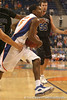 photo by Tim Casey<br /> <br /> Florida sophomore guard Jai Lucas drives to the basket during the second half of the Gators' 108-49 win in an exhibition game against the Warner Southern Royals on Monday, November 3, 2008 at the Stephen C. O'Connell Center in Gainesville, Fla.