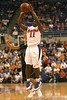 photo by Tim Casey<br /> <br /> Florida freshman guard Erving Walker attempts a three-point shot during the first half of the Gators' exhibition game against the Warner Southern Royals on Monday, November 3, 2008 at the Stephen C. O'Connell Center in Gainesville, Fla.