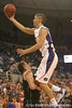 photo by Tim Casey<br /> <br /> Florida sophomore forward Chandler Parsons commits an offensive foul during the first half of the Gators' exhibition game against the Warner Southern Royals on Monday, November 3, 2008 at the Stephen C. O'Connell Center in Gainesville, Fla.