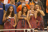 photo by Tim Casey<br /> <br /> Florida fans cheer during the first half of the Gators' exhibition game against the Warner Southern Royals on Monday, November 3, 2008 at the Stephen C. O'Connell Center in Gainesville, Fla.