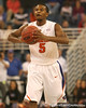 photo by Tim Casey<br /> <br /> Florida sophomore guard Jai Lucas looks to pass during the first half of the Gators' exhibition game against the Warner Southern Royals on Monday, November 3, 2008 at the Stephen C. O'Connell Center in Gainesville, Fla.