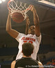 photo by Tim Casey<br /> <br /> Florida freshman forward/center Kenny Kadji slams in two points during the second half of the Gators' 108-49 win in an exhibition game against the Warner Southern Royals on Monday, November 3, 2008 at the Stephen C. O'Connell Center in Gainesville, Fla.