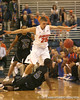 photo by Tim Casey<br /> <br /> Florida sophomore forward Chandler Parsons attempts a steal during the first half of the Gators' exhibition game against the Warner Southern Royals on Monday, November 3, 2008 at the Stephen C. O'Connell Center in Gainesville, Fla.