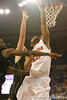 photo by Tim Casey<br /> <br /> Florida senior guard Walter Hodge misses a layup during the second half of the Gators' 108-49 win in an exhibition game against the Warner Southern Royals on Monday, November 3, 2008 at the Stephen C. O'Connell Center in Gainesville, Fla.