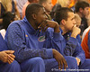 photo by Tim Casey<br /> <br /> Vernon Macklin watches from the bench during the second half of the Gators' 108-49 win in an exhibition game against the Warner Southern Royals on Monday, November 3, 2008 at the Stephen C. O'Connell Center in Gainesville, Fla.