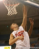 photo by Tim Casey<br /> <br /> Florida sophomore forward Chandler Parsons misses a layup during the second half of the Gators' 108-49 win in an exhibition game against the Warner Southern Royals on Monday, November 3, 2008 at the Stephen C. O'Connell Center in Gainesville, Fla.