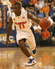 photo by Tim Casey<br /> <br /> Florida freshman guard Erving Walker prepares to drive to the basket during the first half of the Gators' exhibition game against the Warner Southern Royals on Monday, November 3, 2008 at the Stephen C. O'Connell Center in Gainesville, Fla.