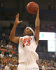 photo by Tim Casey<br /> <br /> Florida sophomore forward Alex Tyus makes a two-point basket during the first half of the Gators' 108-49 win in an exhibition game against the Warner Southern Royals on Monday, November 3, 2008 at the Stephen C. O'Connell Center in Gainesville, Fla.
