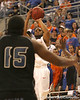 photo by Tim Casey<br /> <br /> Florida senior guard Walter Hodge shoots a jump shot during the second half of the Gators' 108-49 win in an exhibition game against the Warner Southern Royals on Monday, November 3, 2008 at the Stephen C. O'Connell Center in Gainesville, Fla.