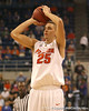 photo by Tim Casey<br /> <br /> Florida sophomore forward Chandler Parsons shoots for three during the first half of the Gators' exhibition game against the Warner Southern Royals on Monday, November 3, 2008 at the Stephen C. O'Connell Center in Gainesville, Fla.