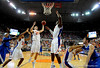 UF guard Chandler Parsons grabs a rebound during the University of Florida Gators 60-53 victory over the Kentucky Wildcats on Friday, March 6, 2009 in the Steven C. O'Connell Center. / Gator Country photo by Casey Brooke lawson
