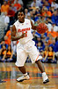 UF guard Erving Walker moves the ball downcourt during the University of Florida Gators 60-53 victory over the Kentucky Wildcats on Friday, March 6, 2009 in the Steven C. O'Connell Center. / Gator Country photo by Casey Brooke lawson