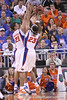 photo by Tim Casey<br /> <br /> during the Gators' 60-53 win against the Kentucky Wildcats on Saturday, March 7, 2009 at the Stephen C. O'Connell Center in Gainesville, Fla.