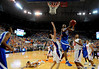 Kentucky's Jodie Meeks attempts to score during the University of Florida Gators 60-53 victory over the Kentucky Wildcats on Friday, March 6, 2009 in the Steven C. O'Connell Center. / Gator Country photo by Casey Brooke lawson
