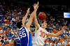 UF forward Nick Calathes loses grip on the ball during the University of Florida Gators 60-53 victory over the Kentucky Wildcats on Friday, March 6, 2009 in the Steven C. O'Connell Center. / Gator Country photo by Casey Brooke lawson