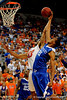 UF forward Alex Tyus scores over a Kentucky player during the University of Florida Gators 60-53 victory over the Kentucky Wildcats on Friday, March 6, 2009 in the Steven C. O'Connell Center. / Gator Country photo by Casey Brooke lawson
