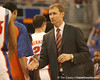 photo by Tim Casey<br /> <br /> Arkansas coach John Pelphrey shakes hands with a Florida player after the Gators' 80-65 win against the Razorbacks on Saturday, January 17, 2009 at the Stephen C. O'Connell Center in Gainesville, Fla.