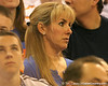 photo by Tim Casey<br /> <br /> Christine Donovan looks on during the Gators' 80-65 win against the Arkansas Razorback on on Saturday, January 17, 2009 at the Stephen C. O'Connell Center in Gainesville, Fla.