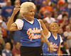 photo by Tim Casey<br /> <br /> The Golden Gators perform during halftime of the Gators' 80-65 win against the Arkansas Razorbacks on Saturday, January 17, 2009 at the Stephen C. O'Connell Center in Gainesville, Fla.