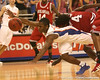 photo by Tim Casey<br /> <br /> Florida freshman guard Erving Walker dives for a loose ball during first half of the Gators' 80-65 win against the Arkansas Razorbacks on Saturday, January 17, 2009 at the Stephen C. O'Connell Center in Gainesville, Fla.