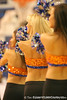 photo by Tim Casey<br /> <br /> The Dazzlers perform during the Gators' 80-65 win against the Arkansas Razorbacks on Saturday, January 17, 2009 at the Stephen C. O'Connell Center in Gainesville, Fla.